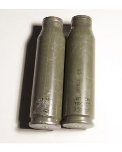 25mm TPDS-T C131 cartridge cases (2)