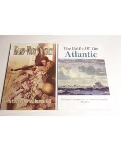 Canadian World War Two books (2) Atlantic, Ortona