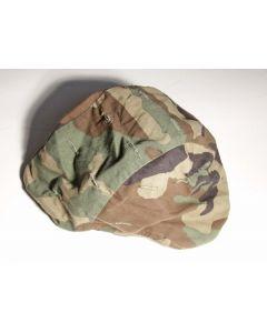 US Woodland camo helmet cover for PASGT helmet