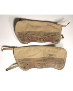 Canadian P37 ankle gaiters WWII