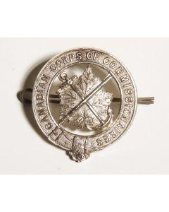 Canadian Commissionaires cap badge