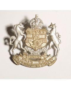 Kings Own Calgary Regiment WWII Cap Badge