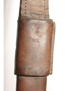 Ross leather scabbard US marked
