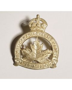 Royal Canadian Army Cadets WWII Cap badge
