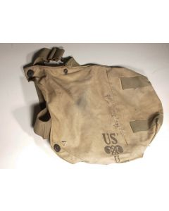US WWII gas mask bag