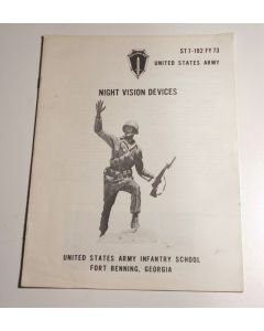 United States Army Night Vision Devices