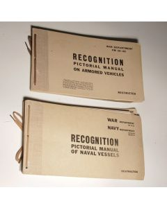 US Recognition manuals lot of 2