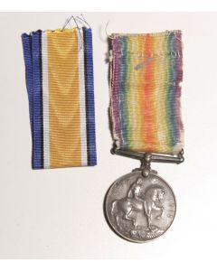 British WWI War Medal named